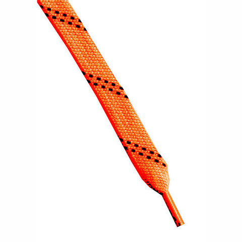 Skate Laces Neon Orange/Black