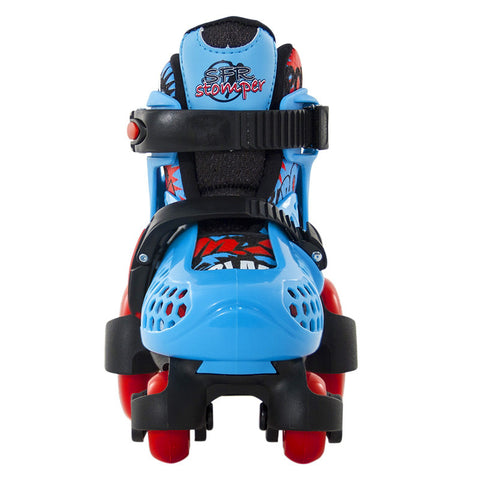 SFR Stomper Adjustable Skates Blue/Red