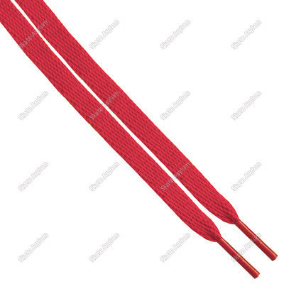 Shoe Laces Thin - Red