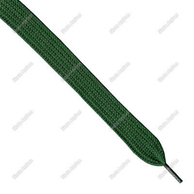 Shoe Laces Wide - British Racing Green