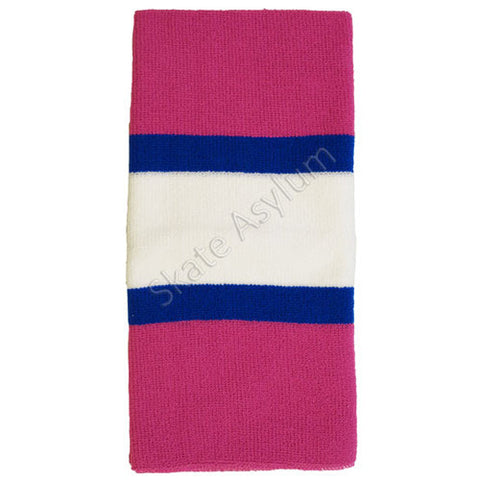 Skate Socks Pink/Blue/White