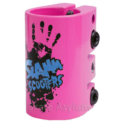 Slamm Quad Clamp Pink