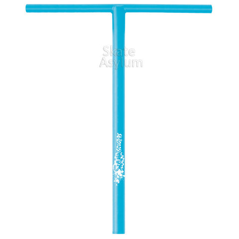 Slamm Low T Bar Scooter Bars Blue