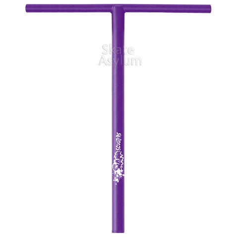 Slamm Low T Bar Scooter Bars Purple