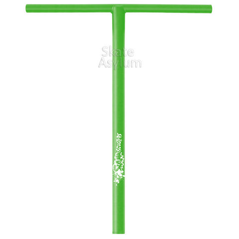 Slamm T Bar Scooter Bars Green