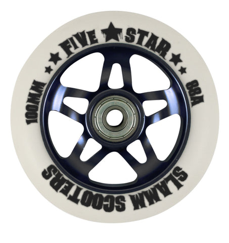 Slamm Five Star Alloy Core Wheel Black
