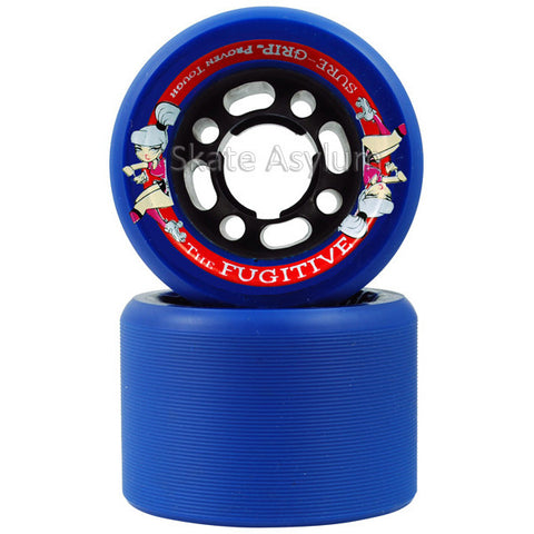 Sure Grip Fugitive 62mm Wheels - Blue