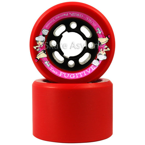 Sure Grip Fugitive 62mm Wheels - Red