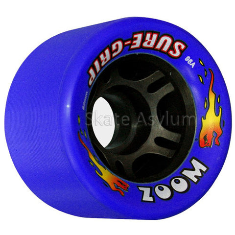 Sure Grip Zoom 62mm Wheels - Blue