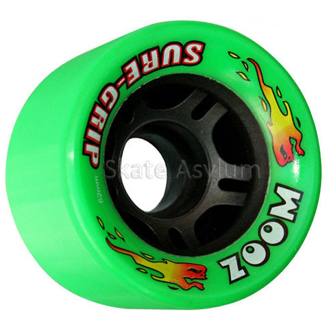 Sure Grip Zoom 62mm Wheels - Green