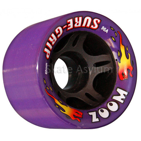 Sure Grip Zoom 62mm Wheels - Purple