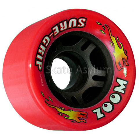 Sure Grip Zoom 62mm Wheels - Red