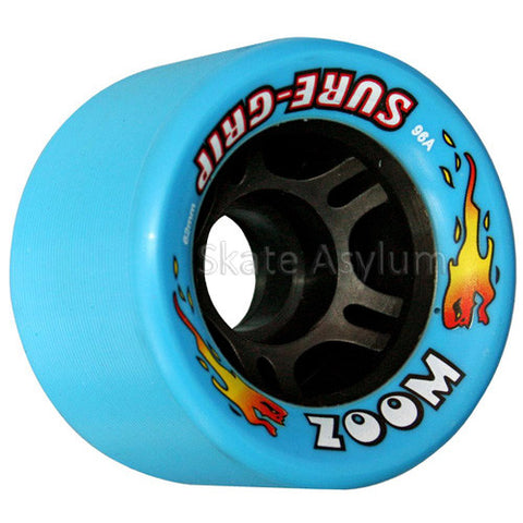 Sure Grip Zoom 62mm Wheels - Sky Blue