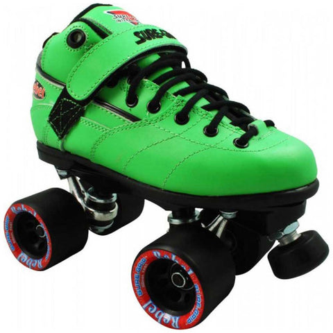 Sure Grip Rebel Derby Quad Skates - Green