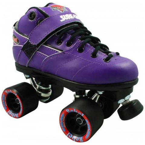 Sure Grip Rebel Derby Quad Skates - Purple