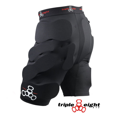 Triple 8 Bumsavers Padded Shorts - Black