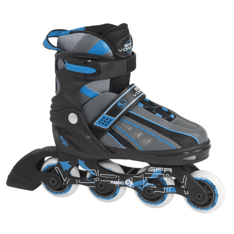 SFR Vortex Adjustable Inline Skate - Blue