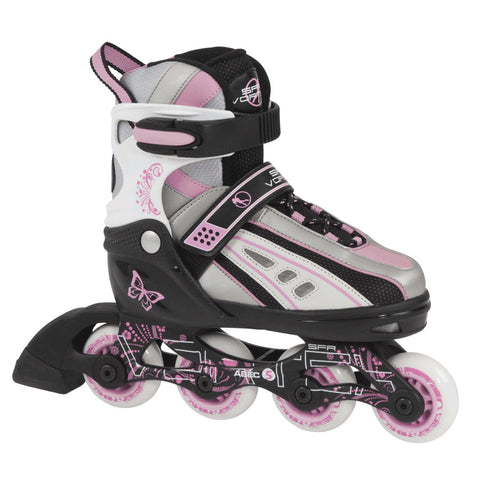 SFR Vortex Adjustable Inline Skate - Pink