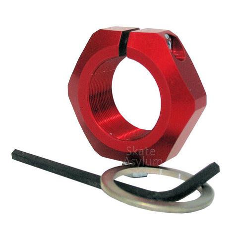 Xntrix Fork Locknut Set Red
