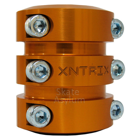 Xntrix Triple Collar Clamp Gold
