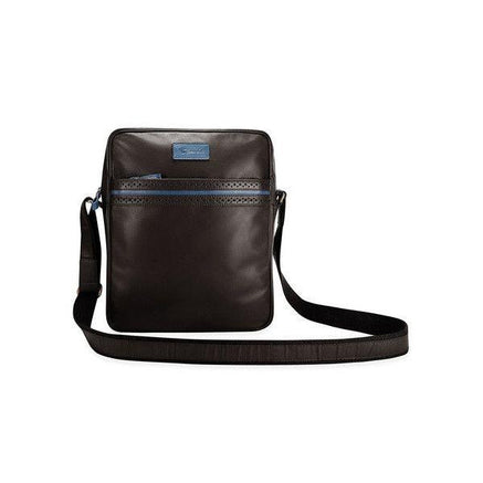 Image of BIGGLESWORTH BLACK LEATHER BAG