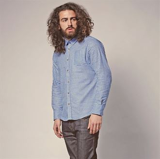 Blaze - Gingham check heavily brushed shirt BS135 - Fashion At Work (UK) Ltd
