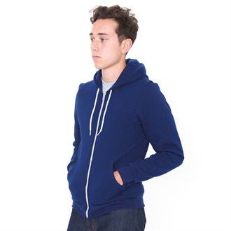 Salt and pepper zip hoodie (MT497) AA023