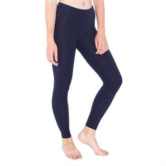 Women's cotton spandex jersey legging AA013