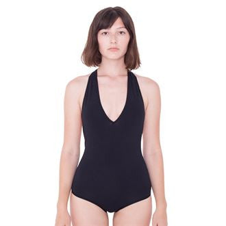 Women's cotton Spandex halter leotard (RSA8312) AA040