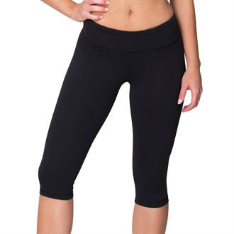 Women's knee length fitness pants (RSAAK304) AA050