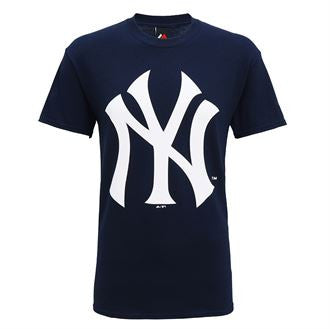 New York Yankees large logo t-shirt MJ001
