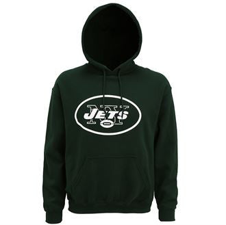 New York Jets large logo hoodie MJ017