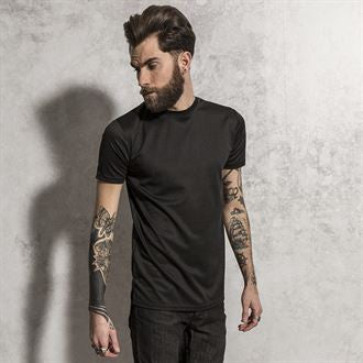 McBose - long length curved hem t-shirt BS189