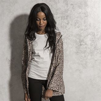Rayleopard - ladies fine leopard print mac BS203