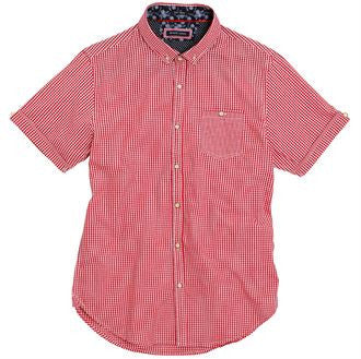 Clement - S/S fine checkered shirt BS234 - Fashion At Work (UK) Ltd