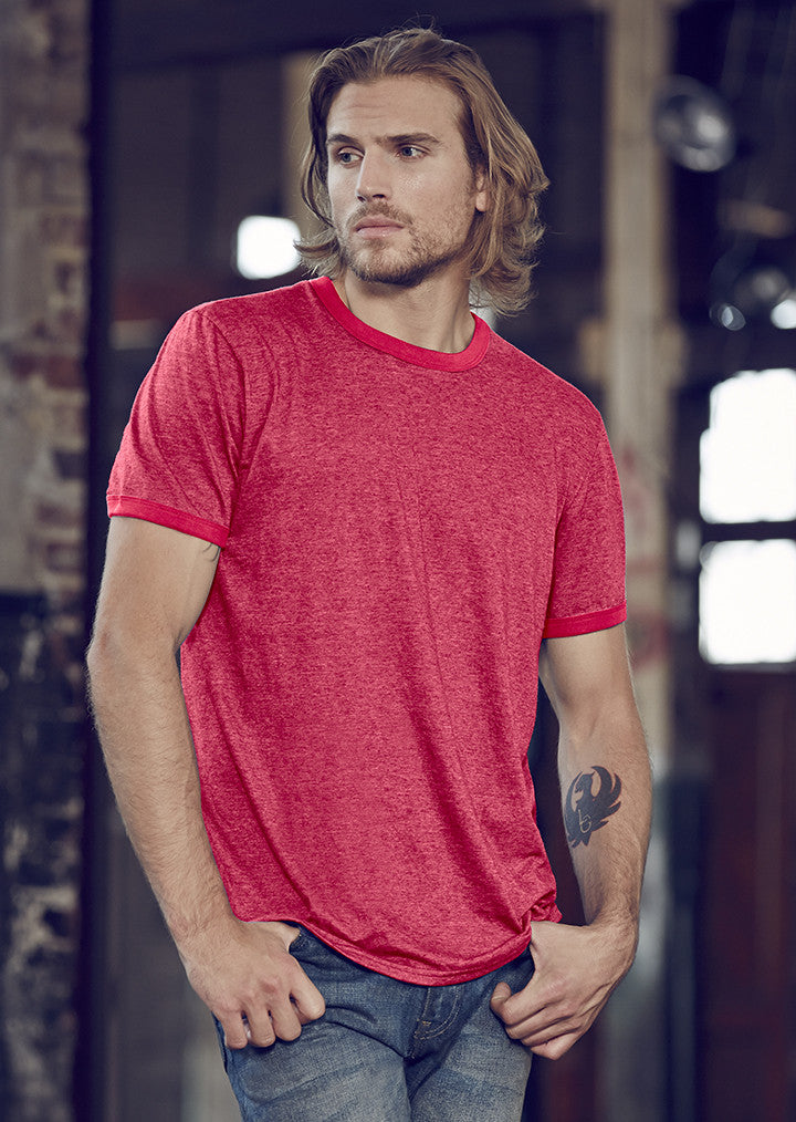 Anvil Lightweight Ringer T Shirt AV111 - Fashion At Work (UK) Ltd