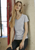 Anvil women's fashion basic v-neck tee AV183 - Fashion At Work (UK) Ltd