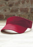 Anvil low-profile twill visor AV703 - Fashion At Work (UK) Ltd