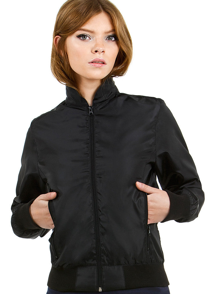B&C Trooper Womens Bomber Jacket B658F - Fashion At Work (UK) Ltd