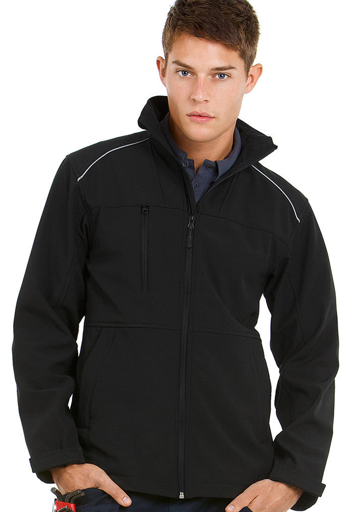 B&C Shield Softshell Pro Jackets BA660 - Fashion At Work (UK) Ltd
