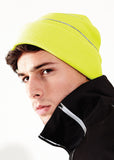 Enhanced-viz knitted hat BC042 - Fashion At Work (UK) Ltd