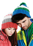 Chamonix combi beanie BC435 - Fashion At Work (UK) Ltd
