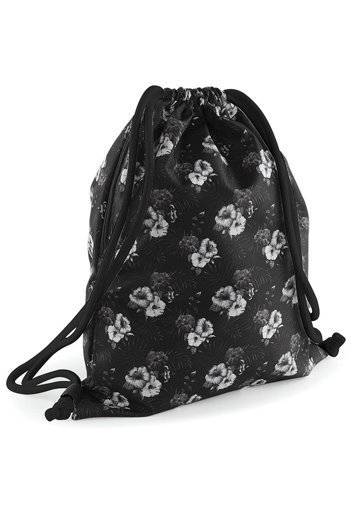 Graphic drawstring backpack BG180 - Fashion At Work (UK) Ltd