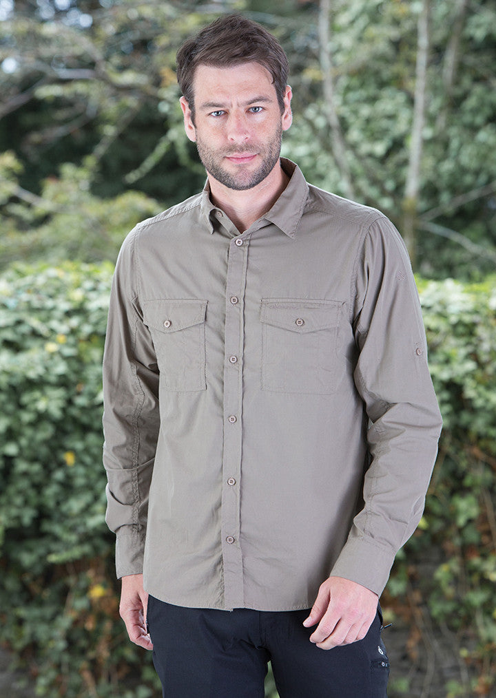 Kiwi long sleeved shirt CR013 - Fashion At Work (UK) Ltd