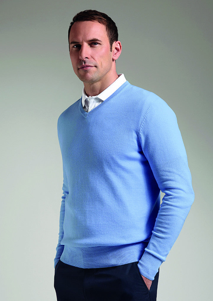 2d6740055 Cotton v-neck sweater (SIC6884VN) GM022 – Fashion At Work