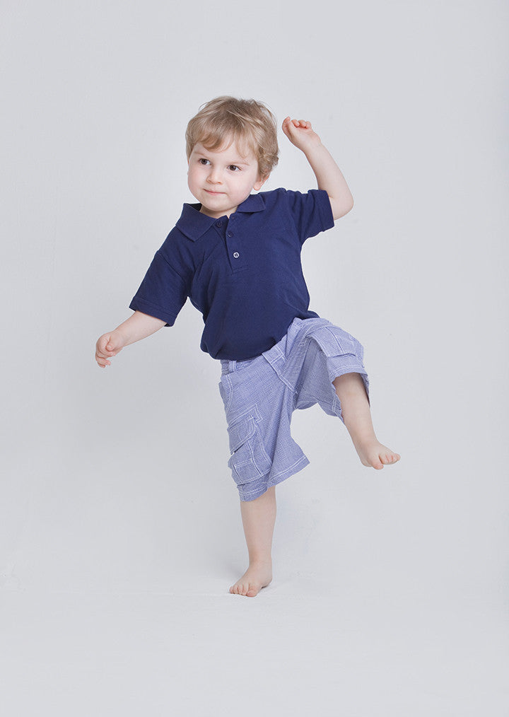 Baby/toddler polo shirt LW40T - Fashion At Work (UK) Ltd