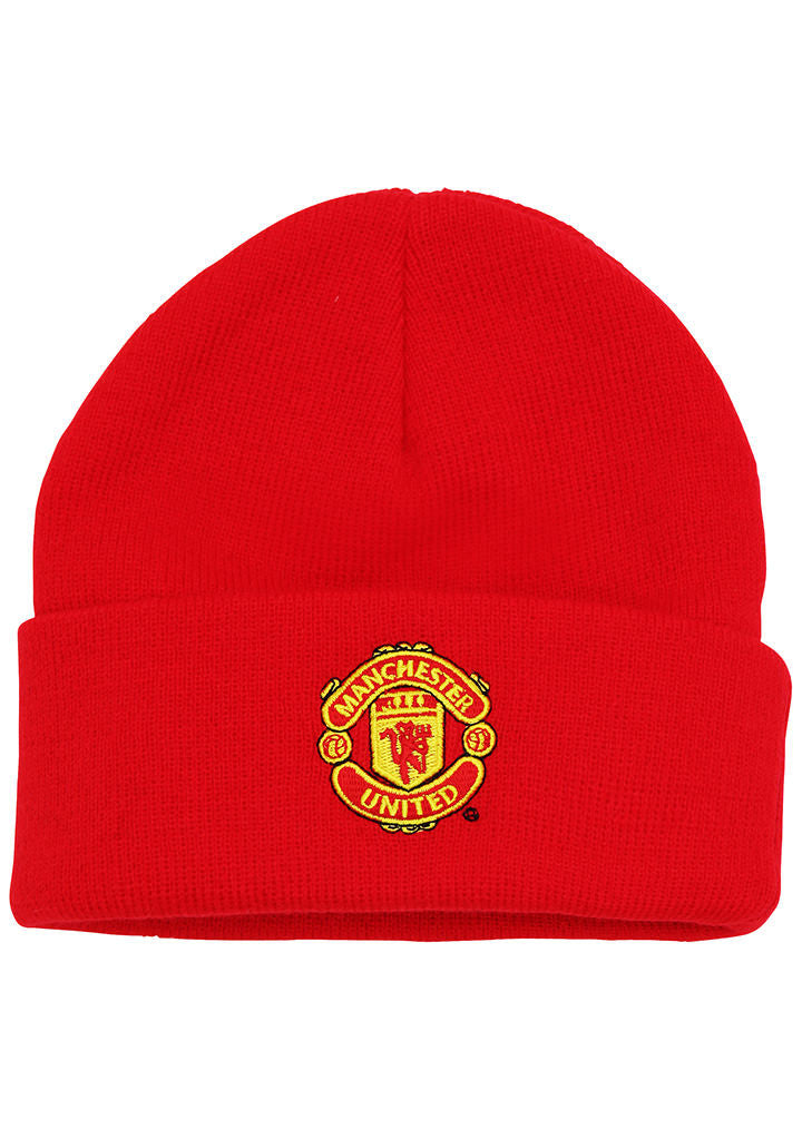 d9cad520bf3 Junior Manchester United FC core beanie OF107 Official Football ...