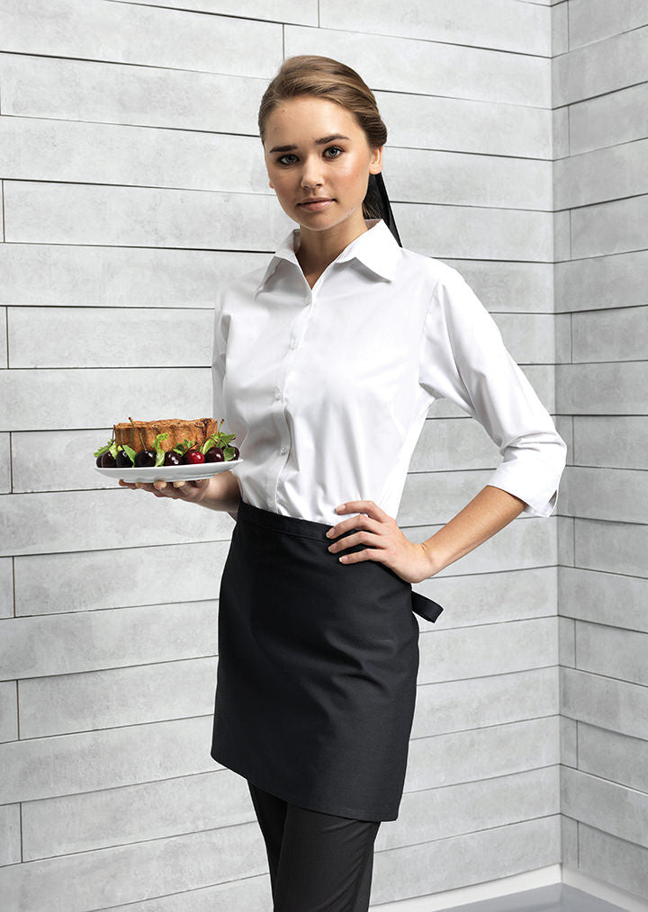 Bar Apron No Pockets PR107 - Fashion At Work (UK) Ltd