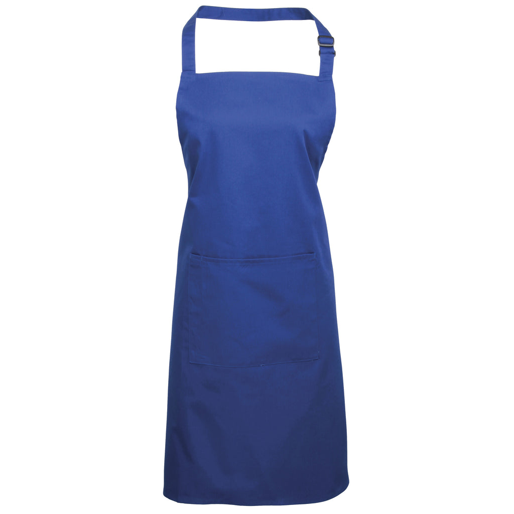 Colours Bib Apron With Pocket PR154 - Fashion At Work (UK) Ltd