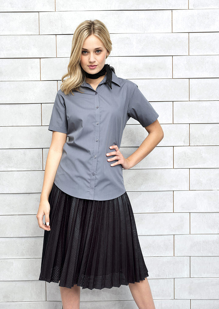 Short Sleeve Corporate Blouse PR302